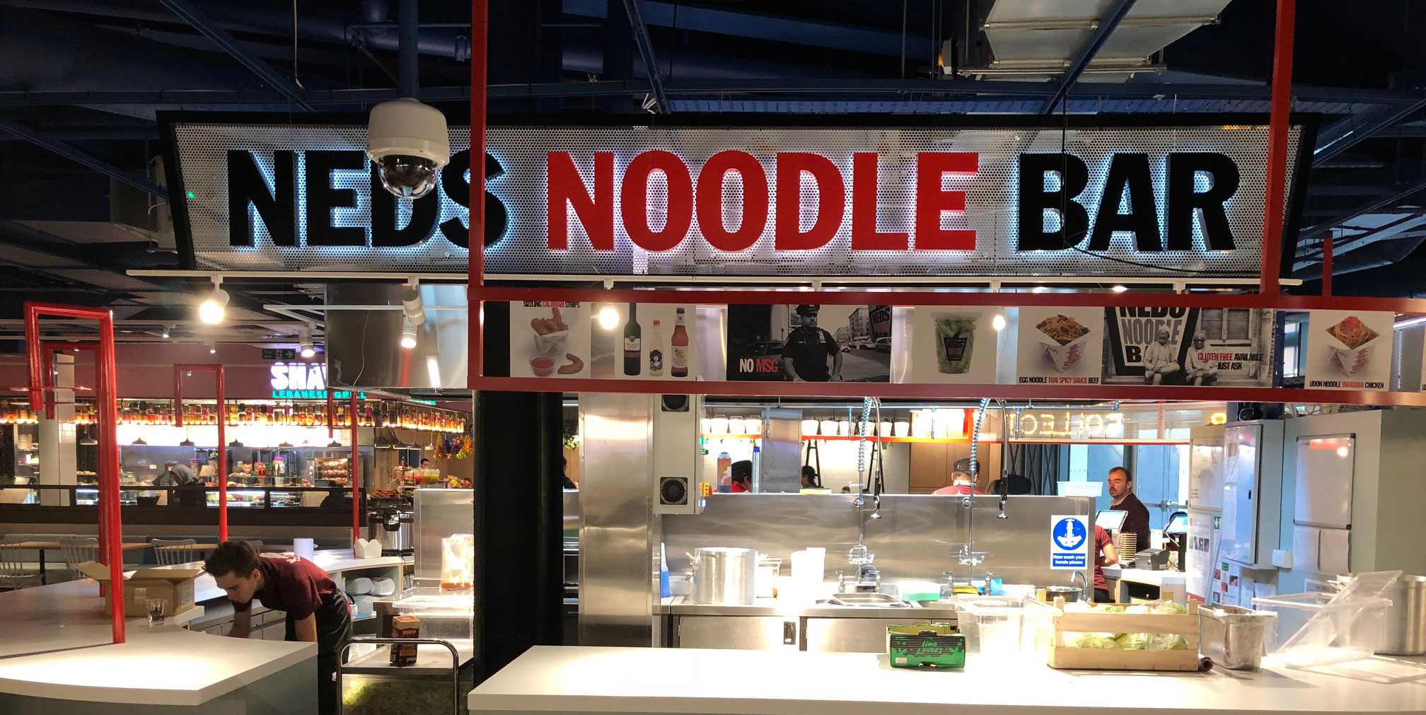Neds Noodle Bar - Oxford's Westgate